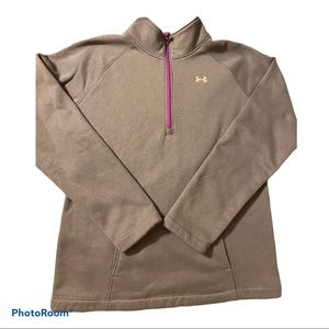 Under Armour gray sweater girls size medium